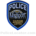 Kingsport Police Department Patch
