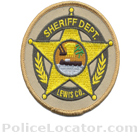 Lewis County Sheriff's Office Patch