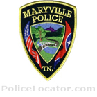 Maryville Police Department Patch