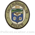 McMinnville Police Department Patch