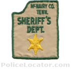 McNairy County Sheriff's Office Patch