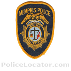 Memphis Police Department Patch