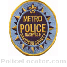 Metropolitan Nashville Police Department Patch