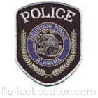 Mountain Brook Police Department Patch