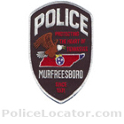 Murfreesboro Police Department Patch
