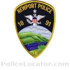 Newport Police Department Patch
