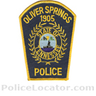 Oliver Springs Police Department Patch