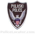 Pulaski Police Department Patch