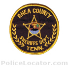 Rhea County Sheriff's Office Patch