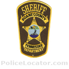 Roane County Sheriff's Office Patch