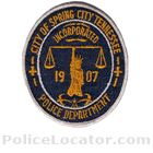 Spring City Police Department Patch