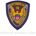 Tiptonville Police Department Patch