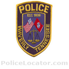 Waverly Police Department Patch