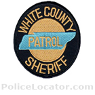 White County Sheriff's Office Patch