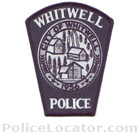 Whitwell Police Department Patch