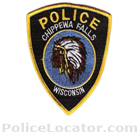 Chippewa Falls Police Department Patch