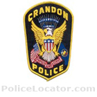 Crandon Police Department Patch