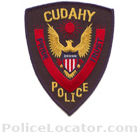 Cudahy Police Department Patch