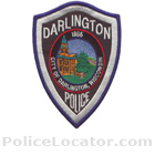 Darlington Police Department Patch