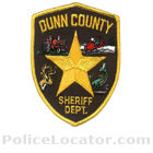 Dunn County Sheriff's Office Patch
