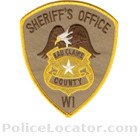 Eau Claire County Sheriff's Office Patch