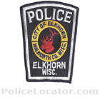 Elkhorn Police Department Patch