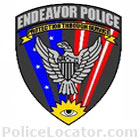 Endeavor Police Department Patch