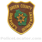 Green County Sheriff's Office Patch