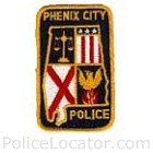 Phenix City Police Department Patch