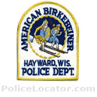 Hayward Police Department Patch