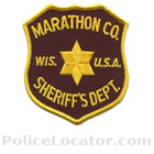 Marathon County Sheriff's Office Patch