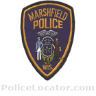 Marshfield Police Department Patch