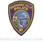 Menomonee Falls Police Department Patch