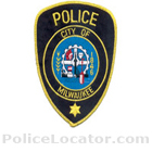 Milwaukee Police Department Patch