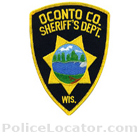 Oconto County Sheriff's Office Patch