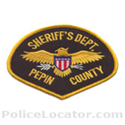 Pepin County Sheriff's Office Patch