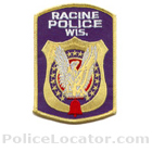 Racine Police Department Patch