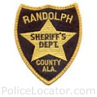 Randolph County Sheriff's Department Patch