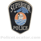 Superior Police Department Patch