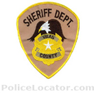 Vilas County Sheriff's Office Patch