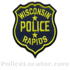 Wisconsin Rapids Police Department Patch