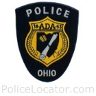 Ada Police Department Patch