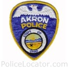Akron Police Department Patch