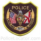 Saraland Police Department Patch