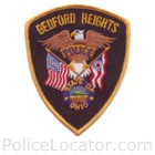 Bedford Heights Police Department Patch