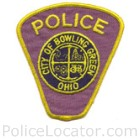 Bowling Green Police Department Patch