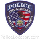 Cedarville Police Department Patch