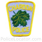 Chardon Police Department Patch