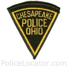 Chesapeake Police Department Patch