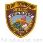 Clay Township Police Department Patch